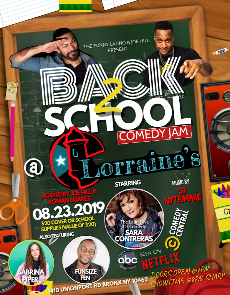 BACK2SCHOOL Comedy JAM
