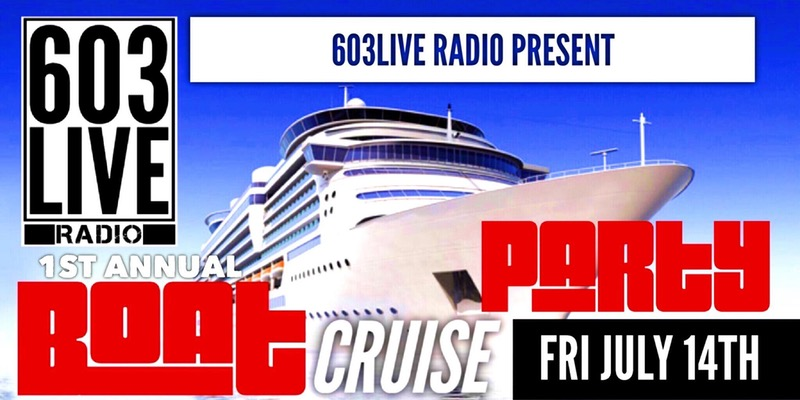 603Live Radio Boat Cruise Party