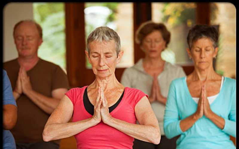 The Saturday Yoga Club at Sussex County Library