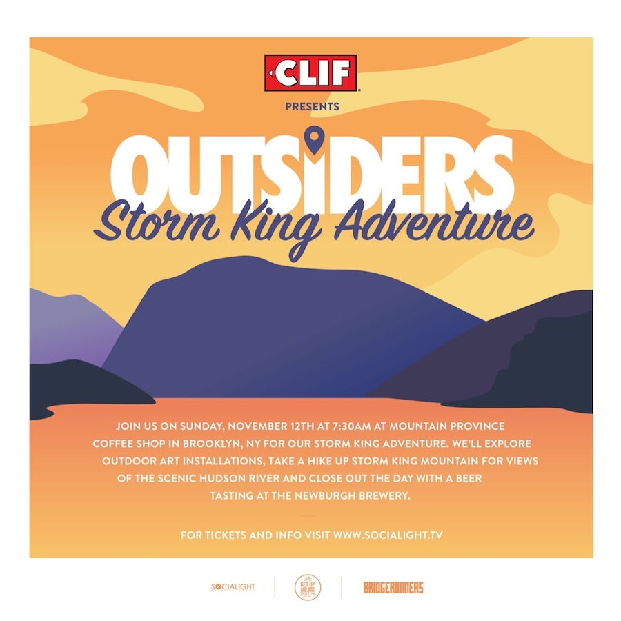 Clif Bar Storm King Adventure
