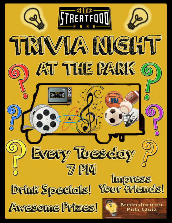 Tuesday Trivia Night & Food Trucks