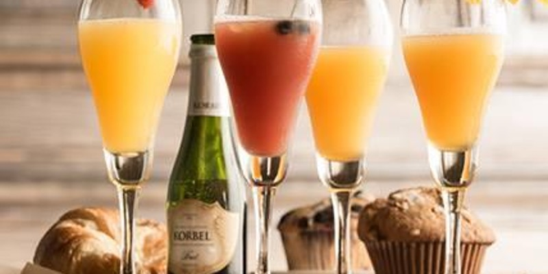 Muffins and Mimosas