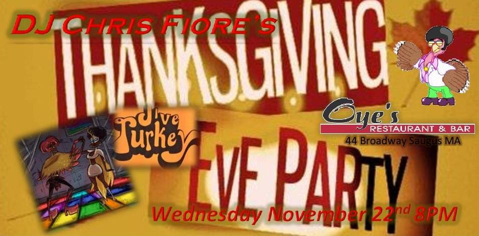 15th Annual Jive Turkey Party