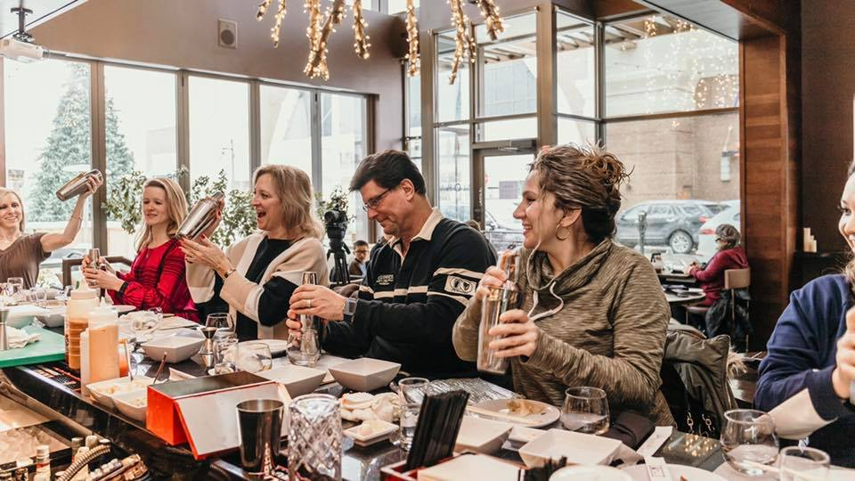 SOLD OUT Cocktail & Sushi Class Saturday February 16