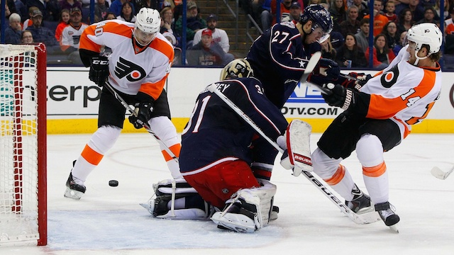 Columbus Blue Jackets at Philadelphia Flyers