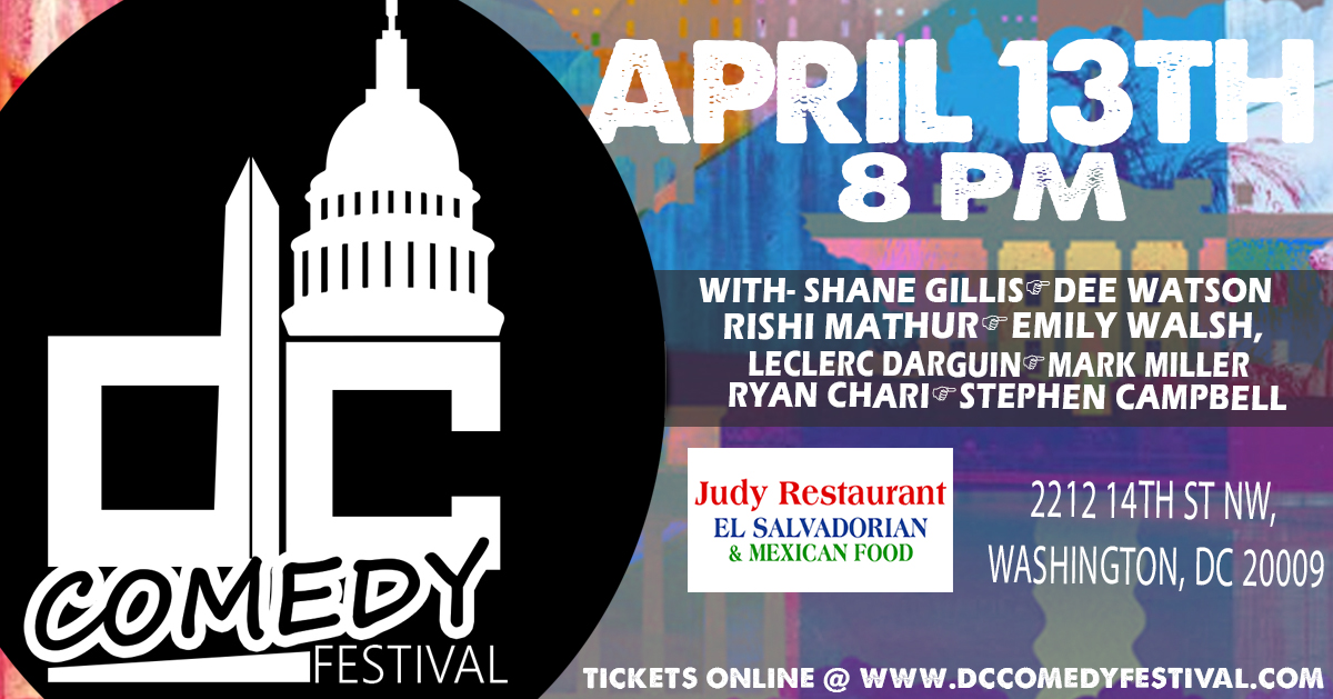 DC Comedy Festival 8pm Friday Night Showcase at Judy's