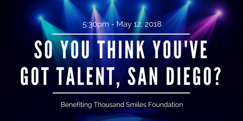 So You Think You've Got Talent, San Diego? Fundraising Gala