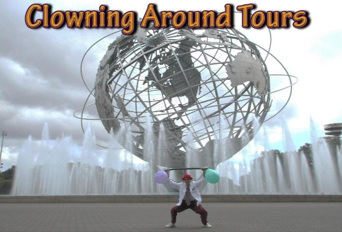 Clowning Around Tours NYC in Flushing Meadows Park NYC