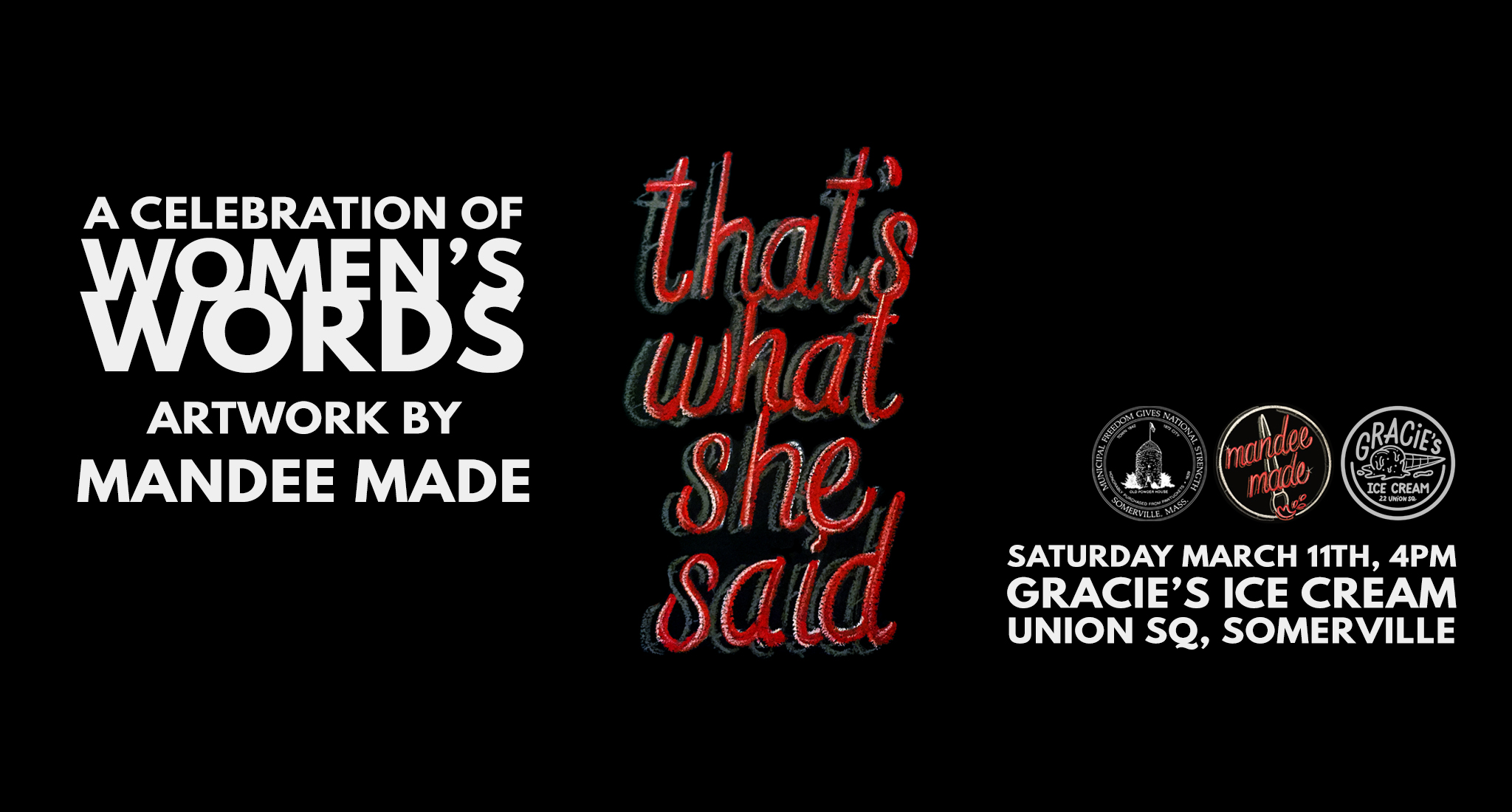 That's What She Said: A Celebration of Women's Words