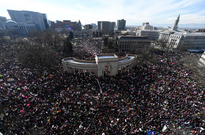 Official Women's March On Colorado: One Year Anniversary