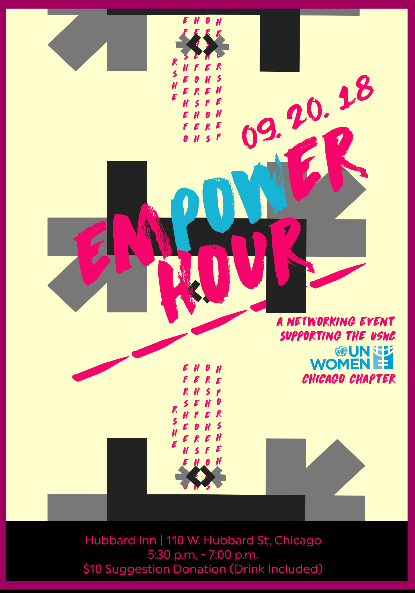 "HeForShe ""Empower Hour""  Presented by USNC-UN Women Chicago"