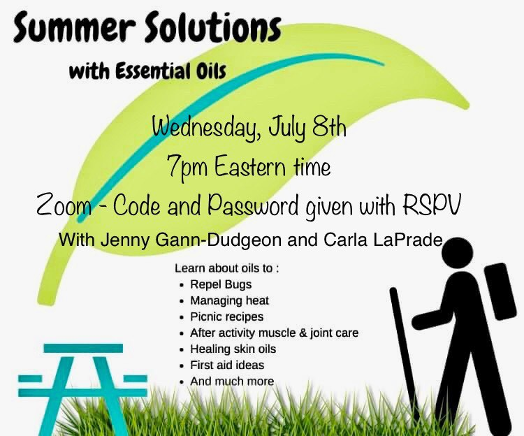 Summer Solutions with Essential Oils