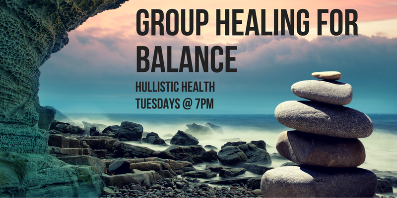 Group Healing Meditation for Balance: Tuesday Nights!
