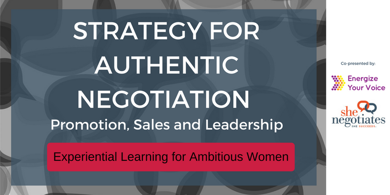 Strategy for Authentic Negotiation: Promotion, Sales, and Leadership