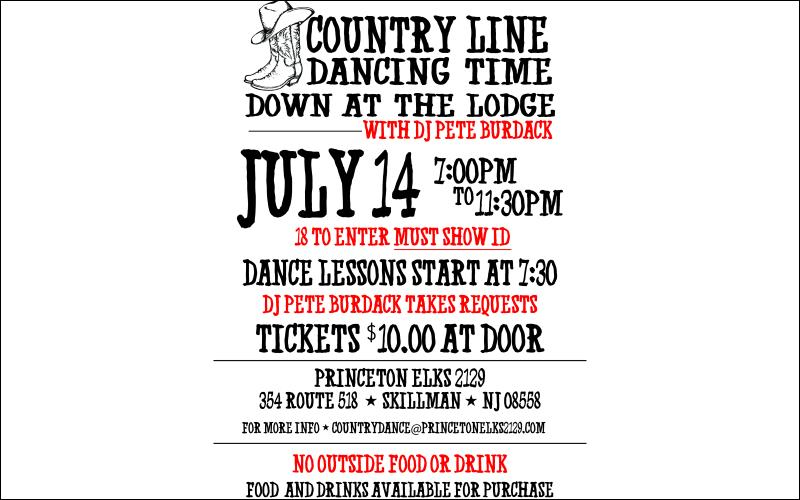 Friday Night Country Line Dance Down At The Lodge