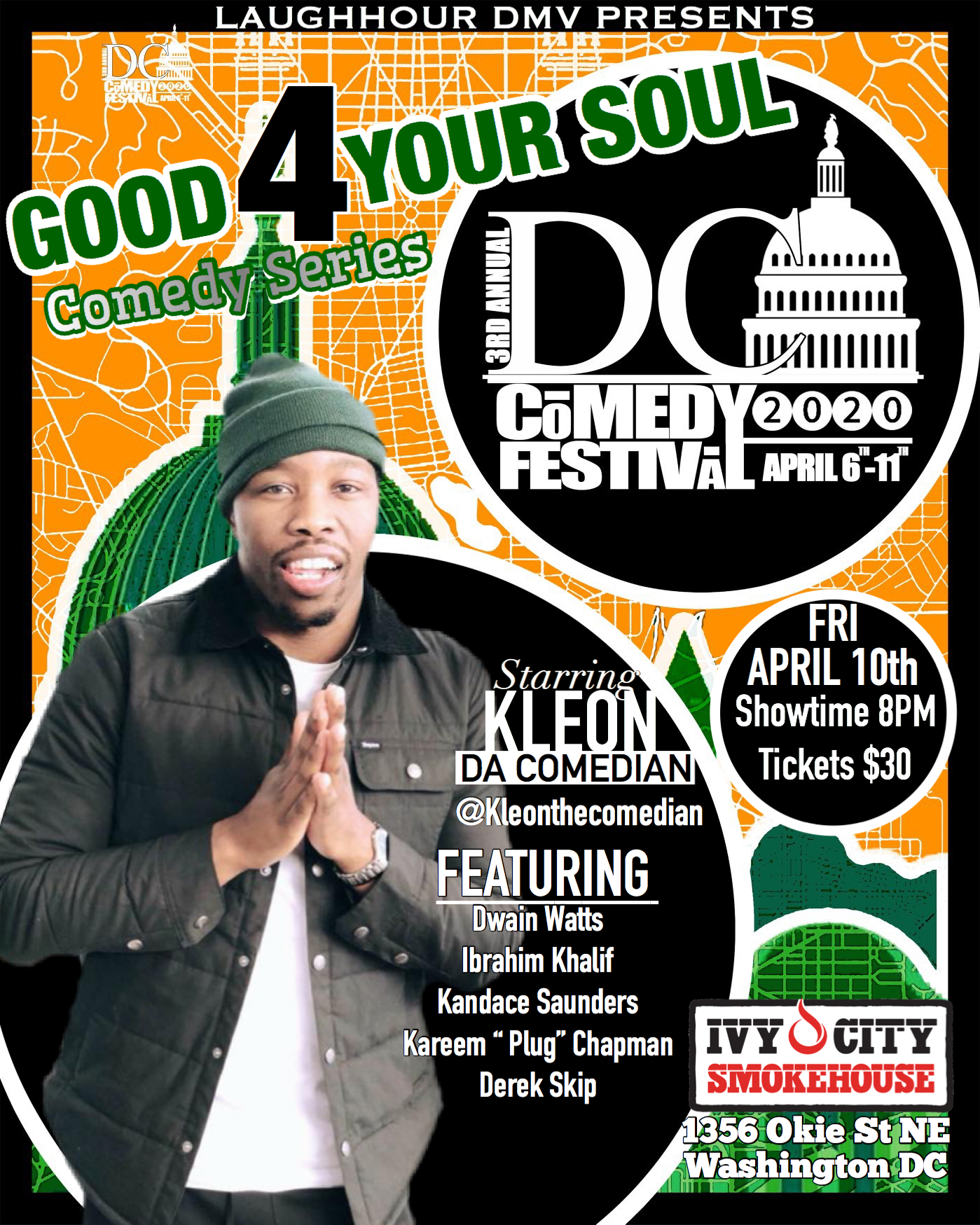 GOOD 4 THE SOUL COMEDY SERIES @ DC COMEDY FESTIVAL