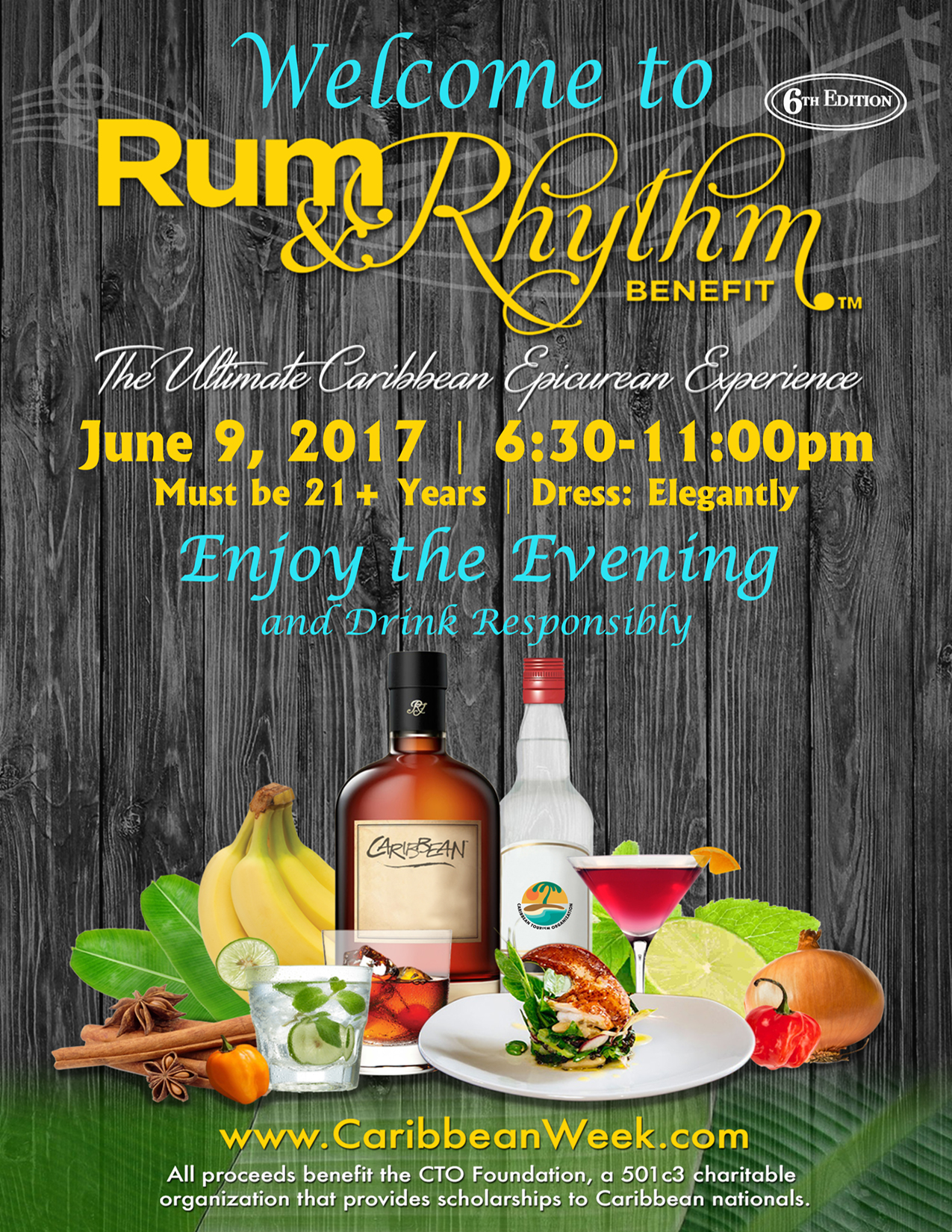Rum and Rhythm™ Benefit