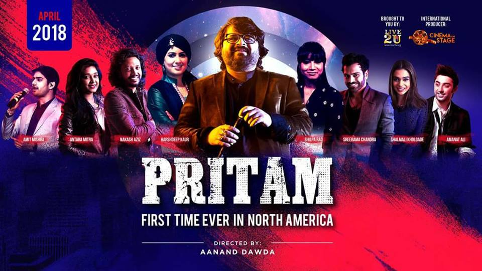 Pritam Chakraborty Live in Concert in Bay Area in San Jose