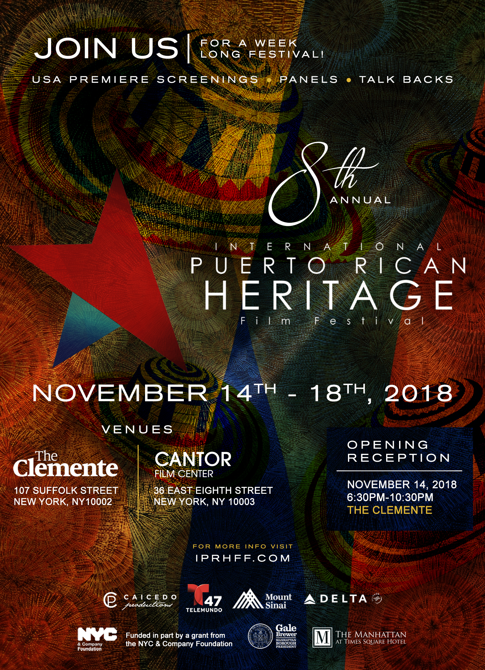 International Puerto Rican Heritage Film Festival