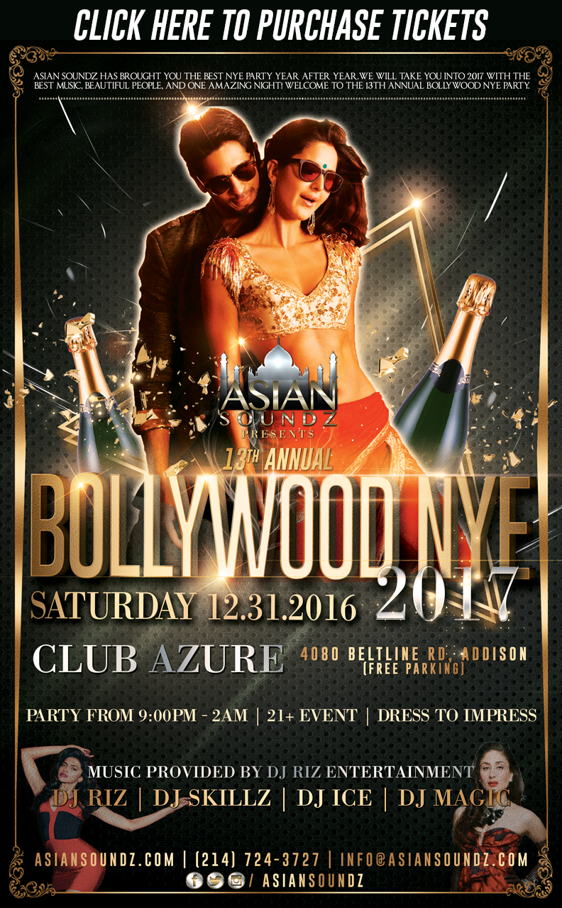 Bollywood NYE 2017 - Dallas