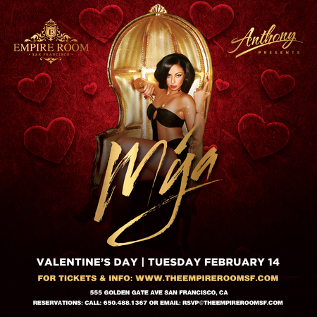 MYA (LIVE) on VALENTINE'S DAY at The Empire Room