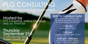 PLG Consulting Golf Tournament 2017
