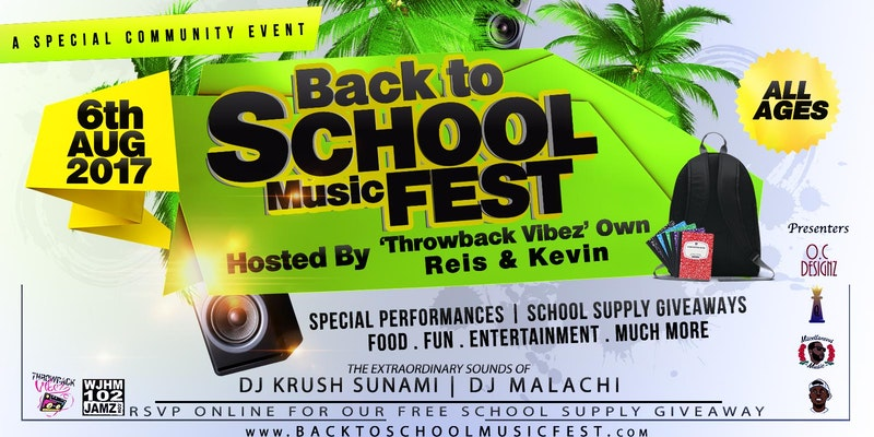 Back To School Music Festival