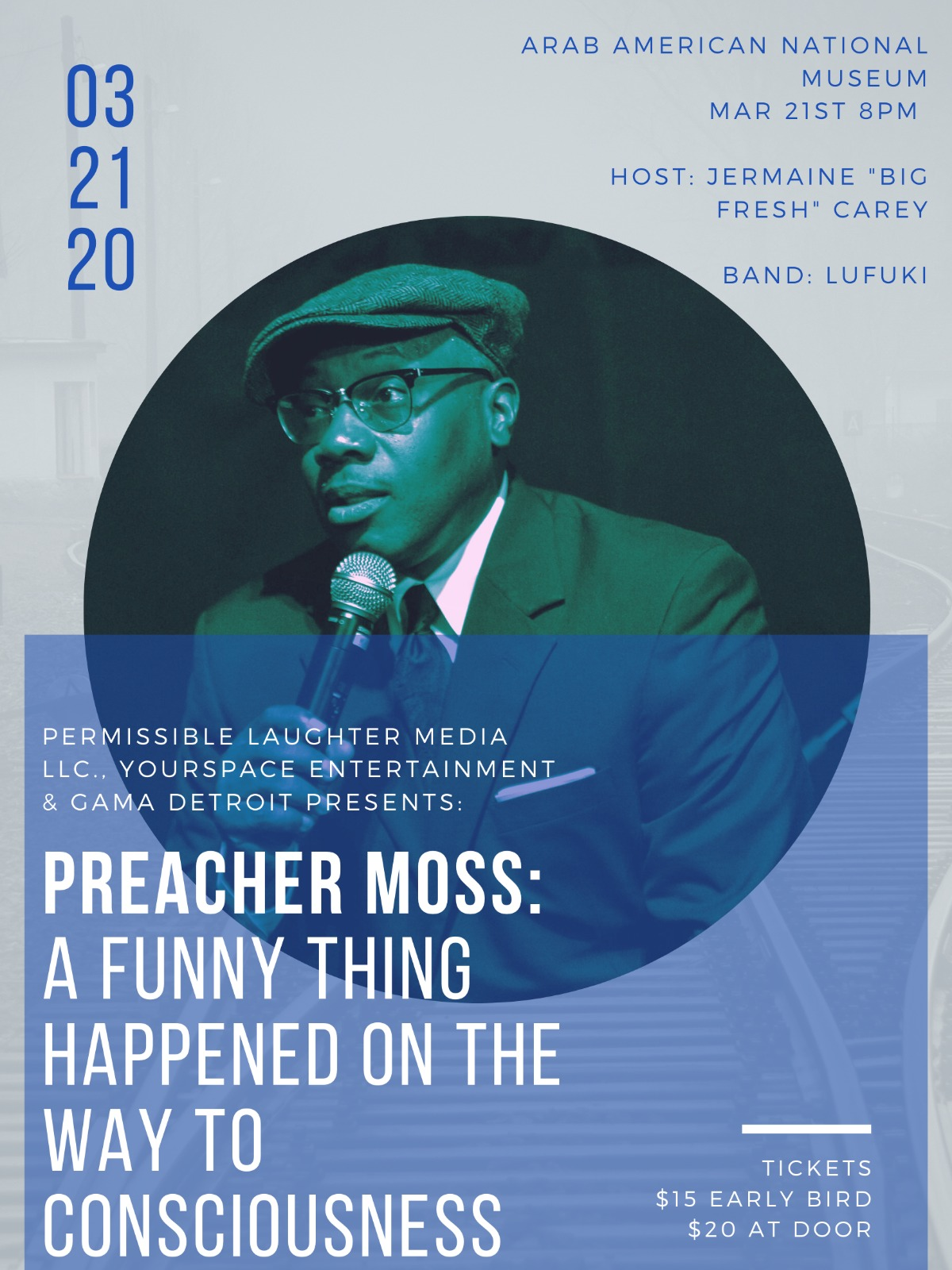 Preacher Moss: A Funny Thing Happened on the Way to Consciouness