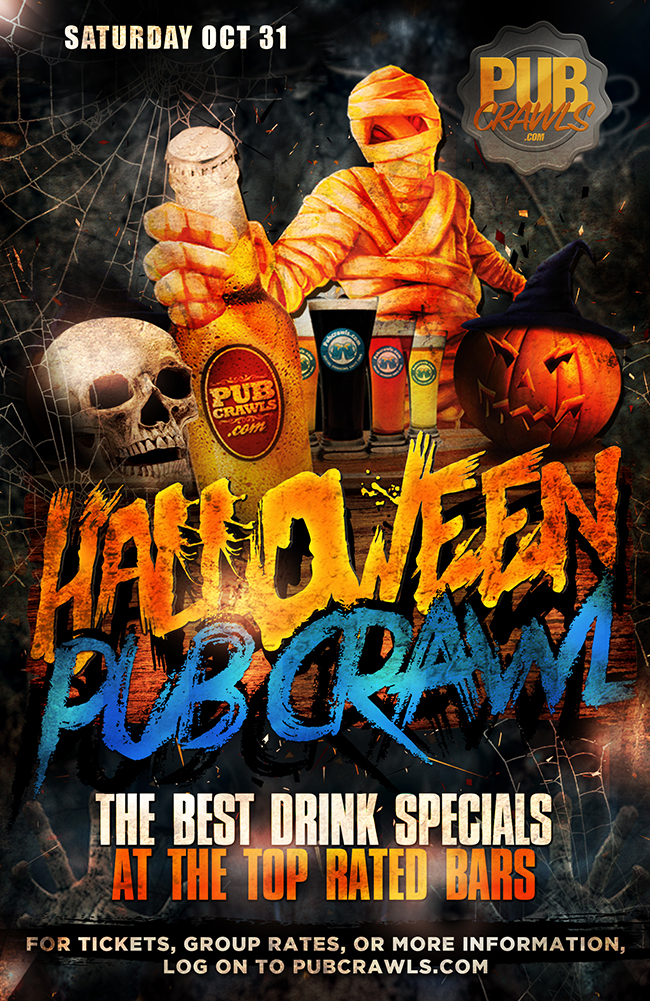 Philadelphia Fright Night Halloween Bar Crawl