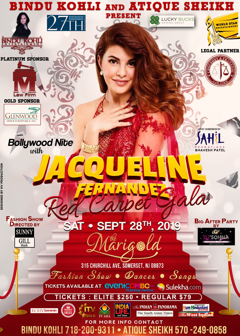 Bollywood Nite With Jacqueline Fernandez