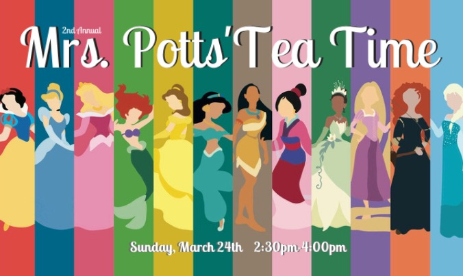 2nd Annual Mrs. Potts' Teatime