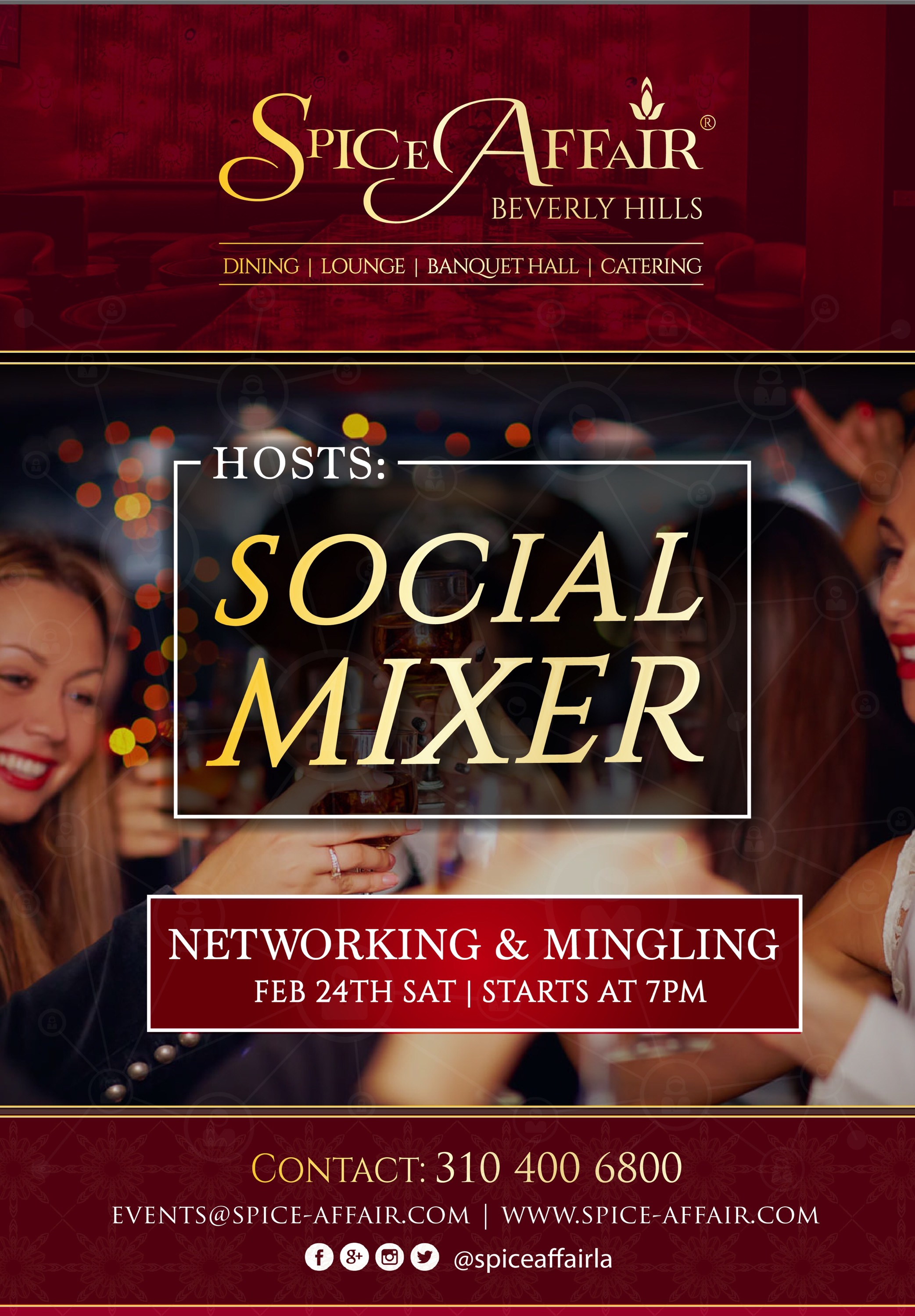 Desi Social Mixer, Networking and DJ Night