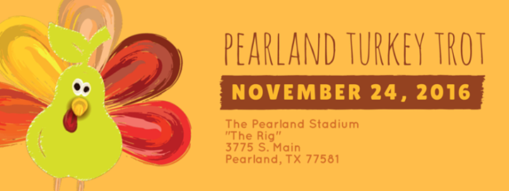 The Pearland Turkey Trot at Pearland Stadium