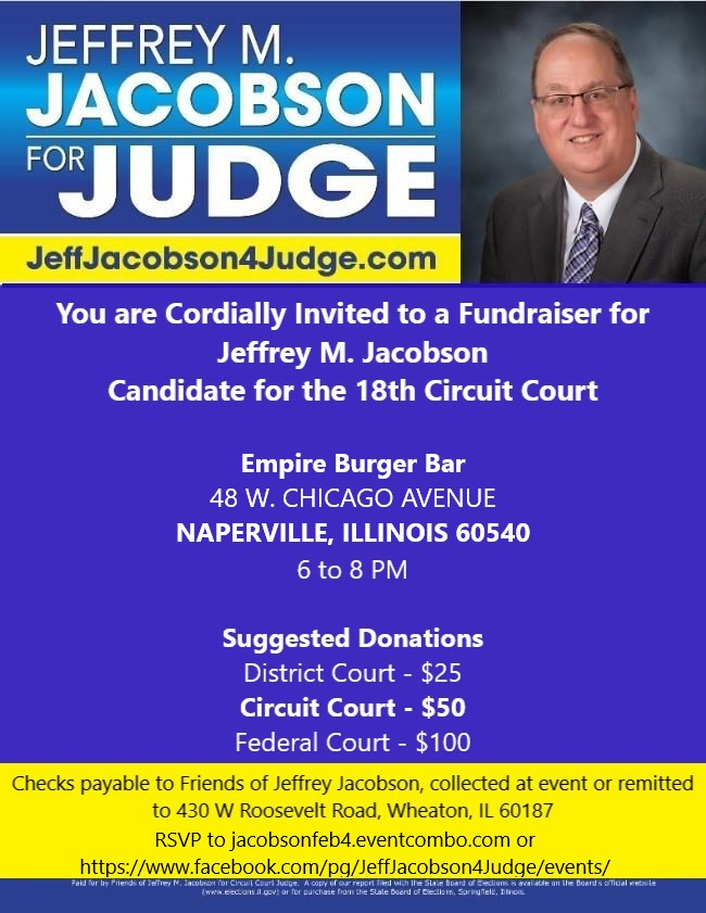 A Fundraiser for Jeffrey M. Jacobson