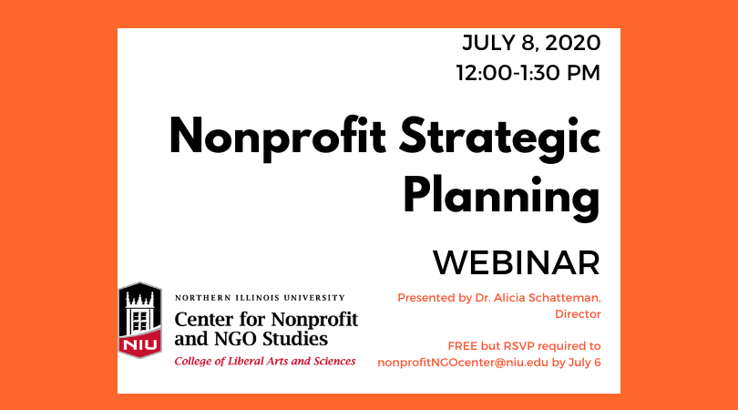 Nonprofit Strategic Planning Webinar-NIU