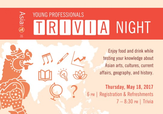Young Professionals Trivia Night at Asia Society