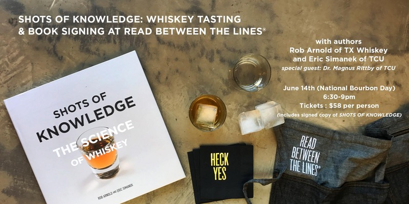 SHOTS OF KNOWLEDGE: WHISKEY TASTING & BOOK SIGNING AT RBTL®