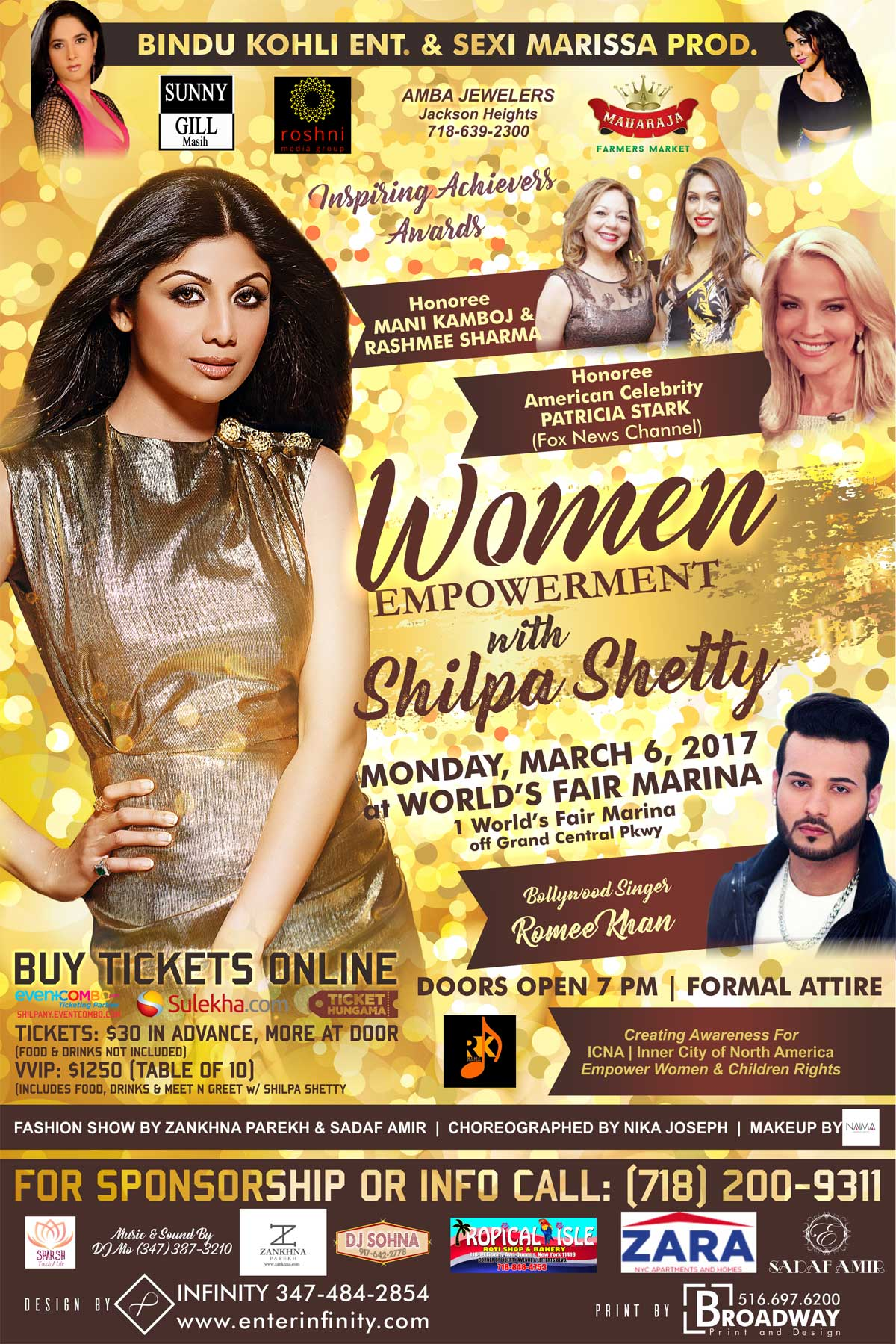 Women Empowerment with Shilpa Shetty in New York