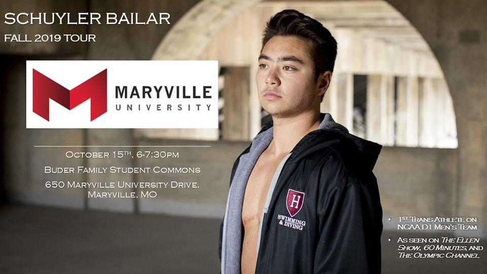 Schuyler Bailar Speaks at Maryville