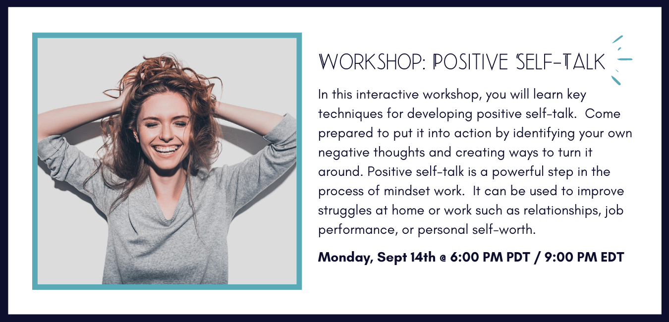 Positive Self-Talk Workshop