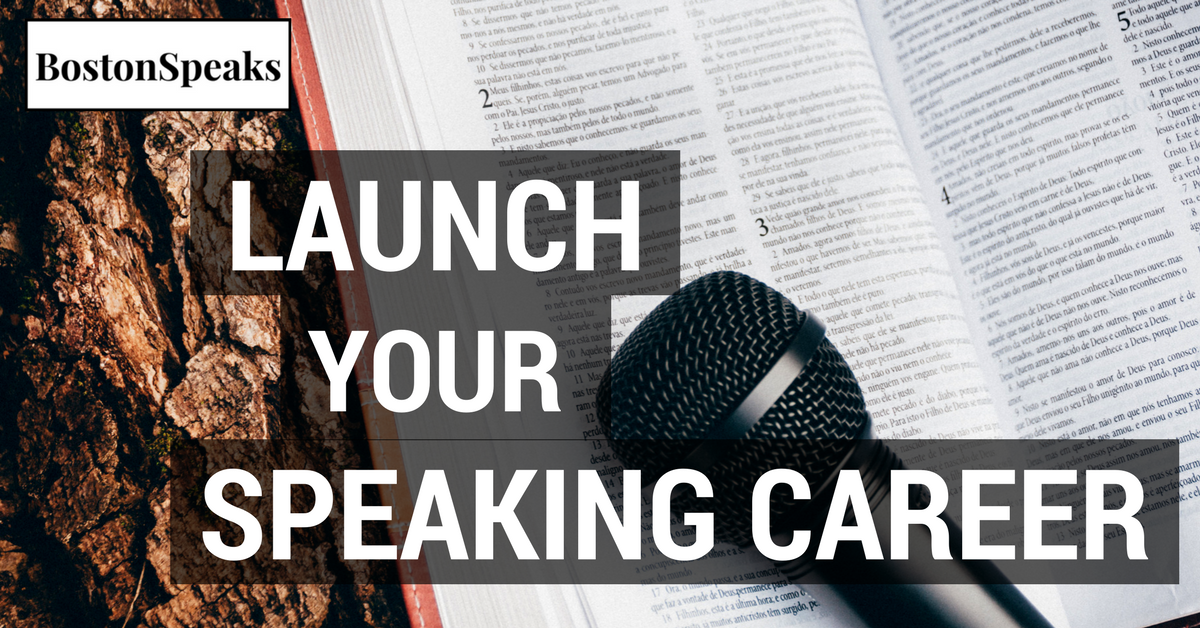 Launch Your Speaking Career
