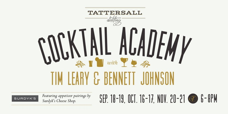 Tattersall Cocktail Academy: Fall Drinks (November 20)