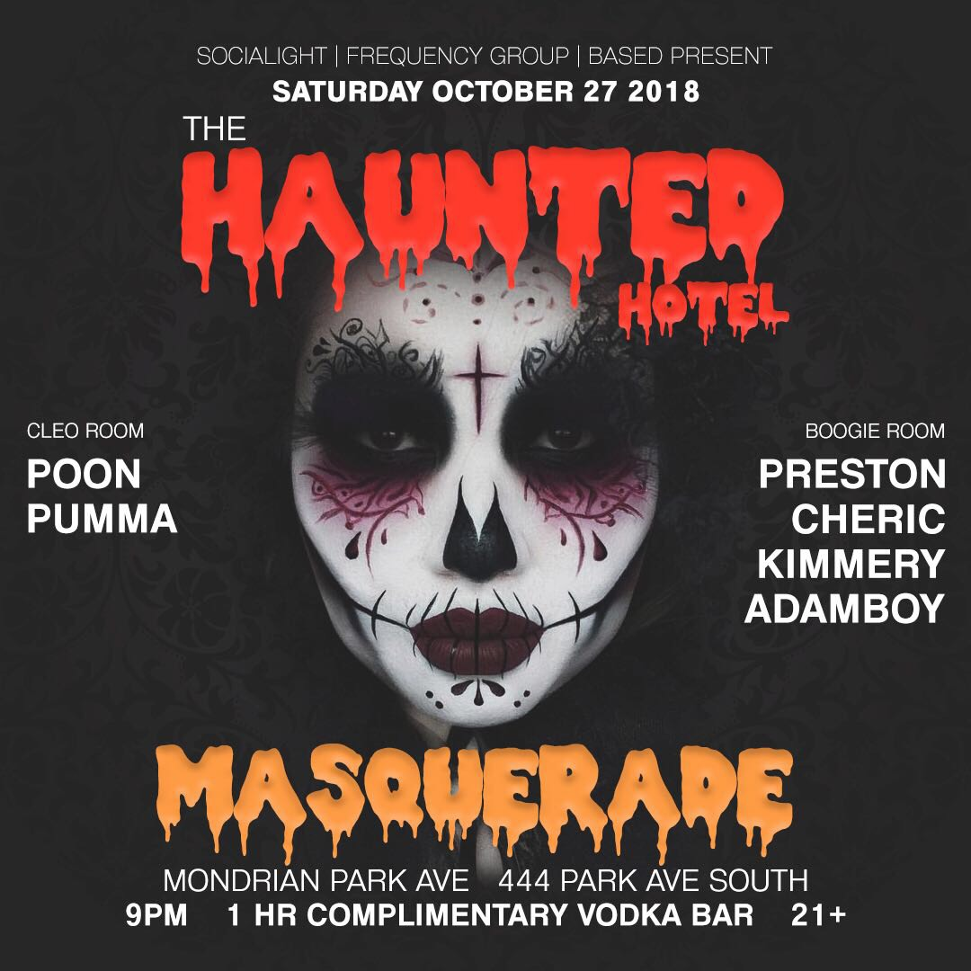 The Haunted Hotel Masquerade