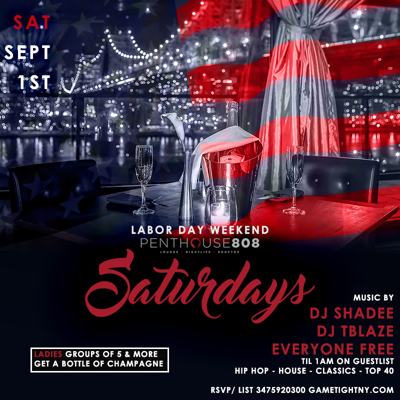 Ravel Penthouse 808 Labor Day Weekend 2018 Everyone FREE (Gametight)