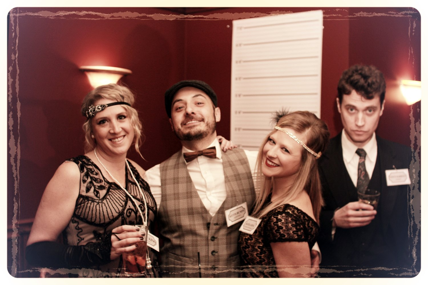 Speakeasy Murder Mystery Cocktail Party