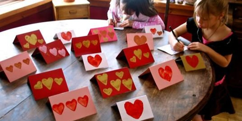 Valentine's and Art Supplies for the Ronald McDonald House