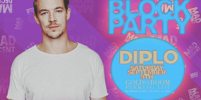 Diplo | Block Party | 9.9.17