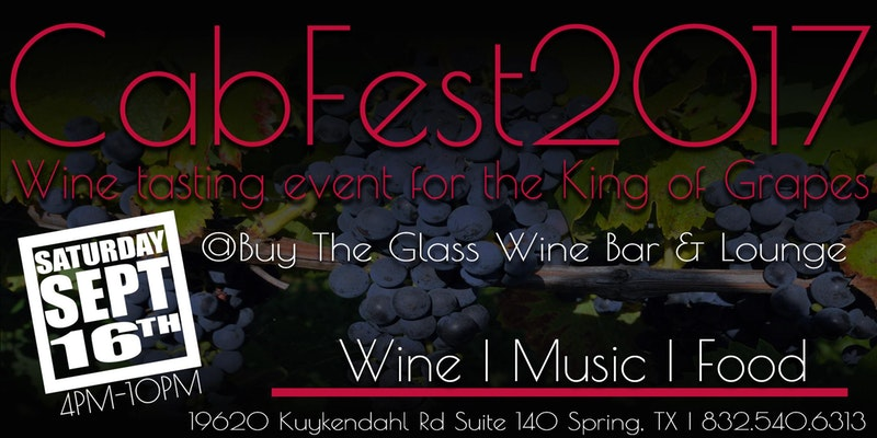 Cab Fest | Wine Tasting for the King of Grapes