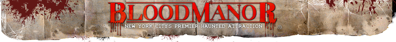 Blood Manor Haunted House in New York