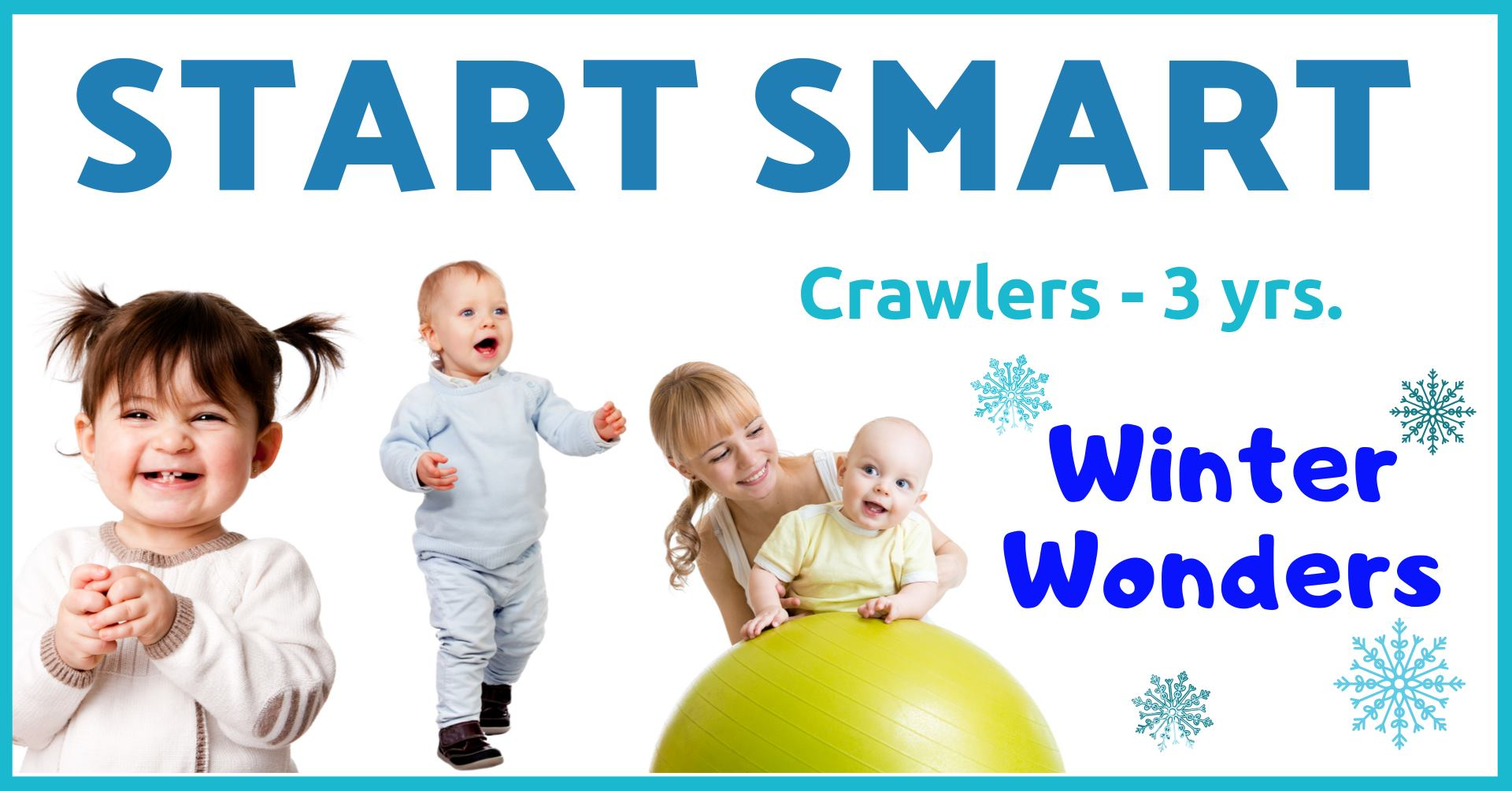 Start Smart at GymKix | Winter Wonders Session